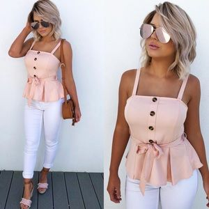 Shop Hope's Tops - ➳ Hope's Boutique Blush Top